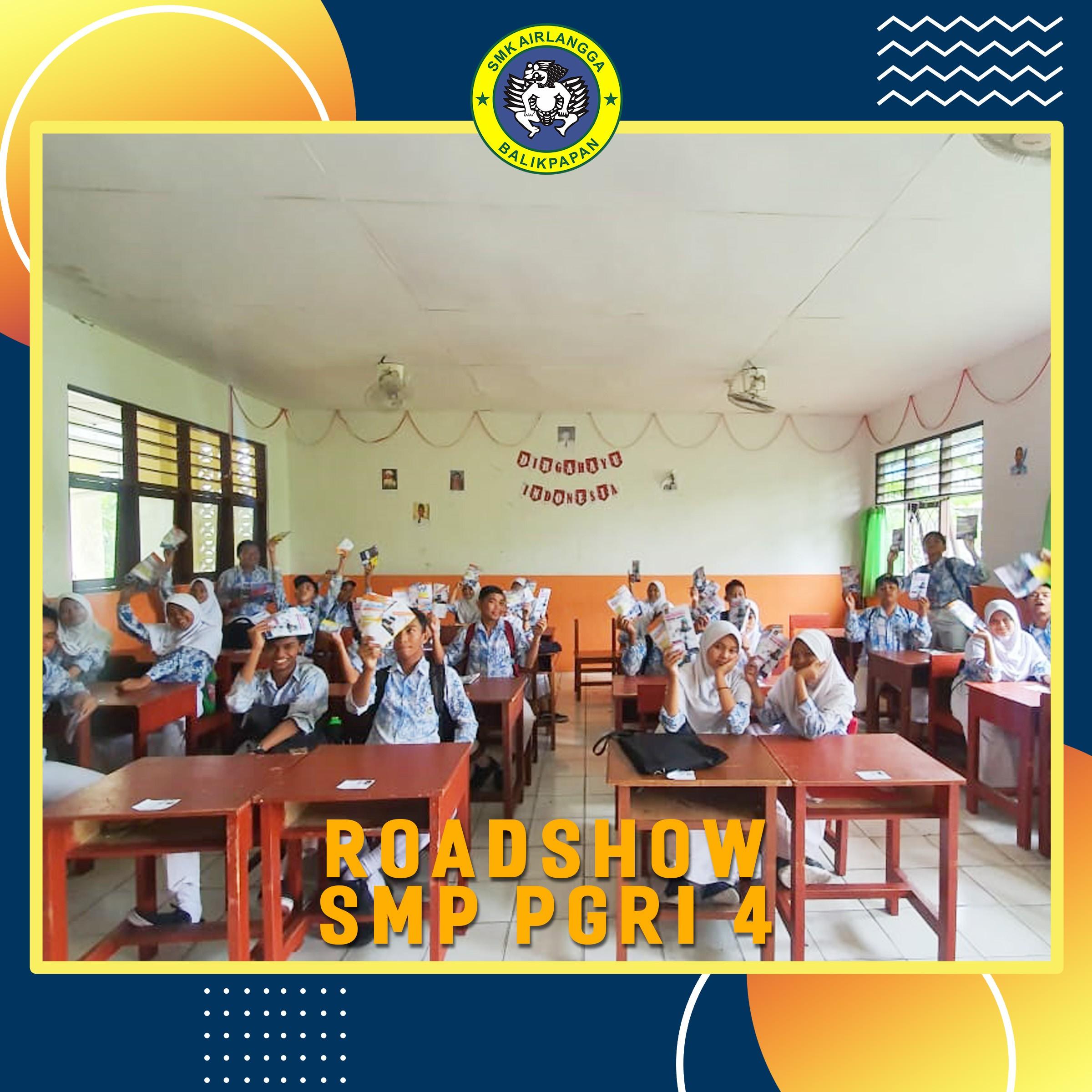Roadshow Penerimaan Peserta Didik Baru 2020-2021 Skarla United ke SMP PGRI 4 Balikpapan