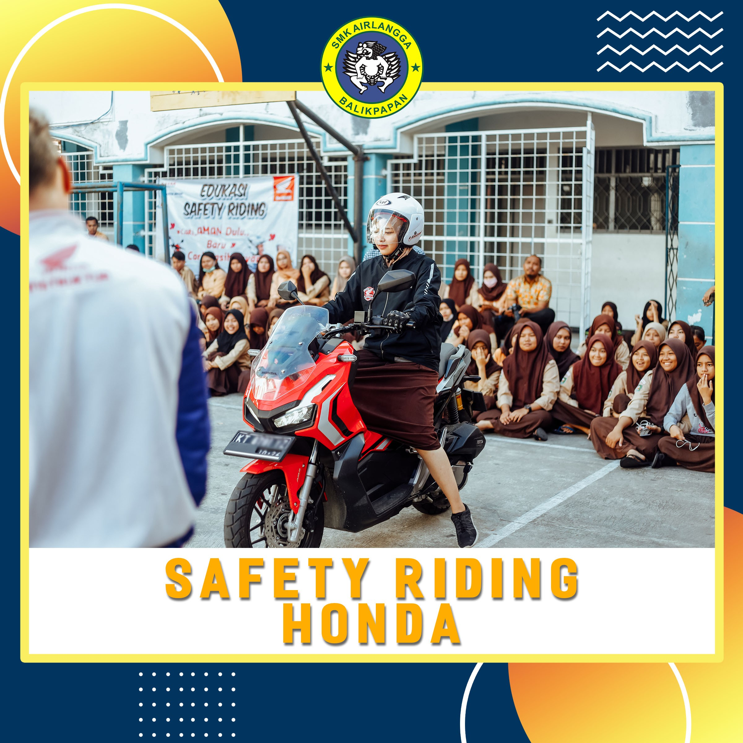 Safety Riding by Honda